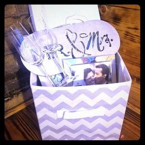 Other - Mr and mrs gift basket